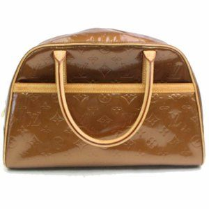 Louis Vuitton  Bronze copper Monogram Vernis Tompk